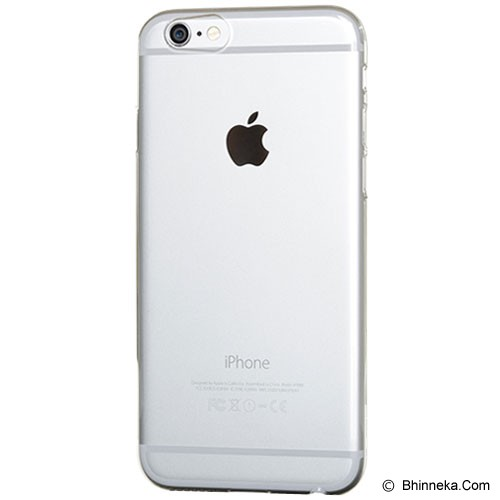POWER SUPPORT Air Jacket for Apple iPhone Plus 6 5.5 R [PSPYK-81/UPYK-81] - Clear - Casing Handphone / Case